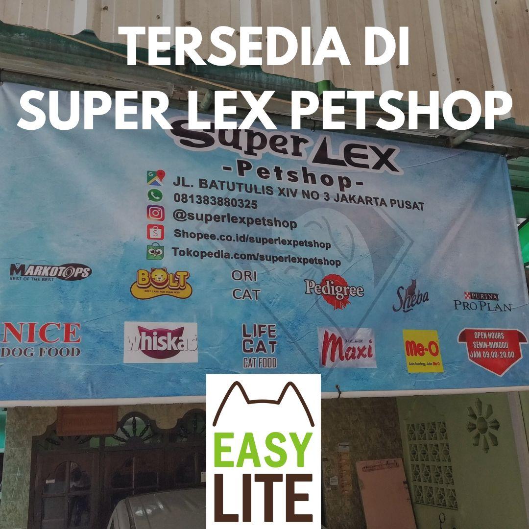 Tersedia Di Super Lex Petshop, Jakarta Pusat