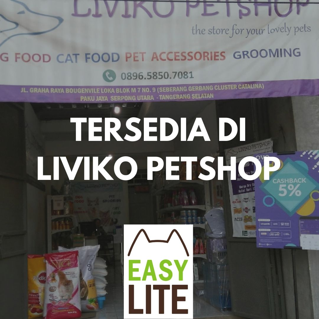 Tersedia di Liviko Pet Shop, Graha Raya, Tangerang Selatan